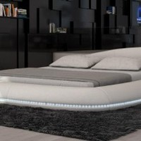 Cerchio Platform Bed by VIG Furniture - Opulentitems.com