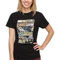 DC Superheroine Ladies' Tee - Black,