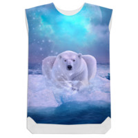 Power Is No Blessing In Itself (Protect the Polar Bear) Shift Dress created by soaringanchordesigns | Print All Over Me