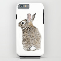 Rabbit iPhone & iPod Case by Anna Shell