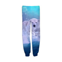Power Is No Blessing In Itself (Protect the Polar Bear) Unisex Sweatpants created by soaringanchordesigns | Print All Over Me