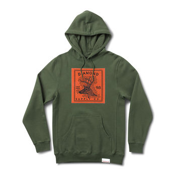Game Association Pt. 14 Pullover Hood in Olive