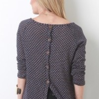 Button Down Back Top