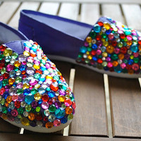 Custom Rhinestone Toms