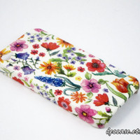 Case iPhone 4, iPhone 4 Case, iPhone Cases 4 - Colorful Flower