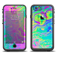 The Neon Color Fushion Skin Set for the Apple iPhone 6 LifeProof Fre Case