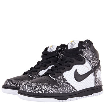 Nike Kids Dunk Hi Premium Grade School - Black White University Blue