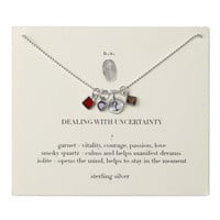 Dealing With Uncertainty Necklace