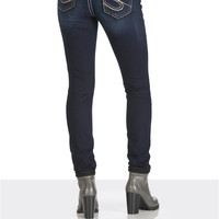 silver jeans co. ® suki thick stitch skinning jeans