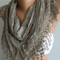 Scarf  Cotton Soft Scarf  - Shawl