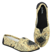 Harry Potter Marauder's Map Slip-On Shoes