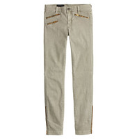 J.Crew Womens Tall Sateen Toothpick Pant With Zips