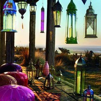 Bohemian.Moraccan.Ethnic Style / HomeShoppingSpy/lanterns