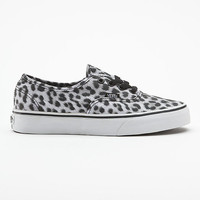Leopard Authentic Vans