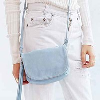 Suede Prairie Shoulder Bag-