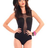 GYPSY WARRIOR - Sweetheart Mesh Bodysuit