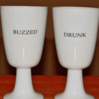 Porcelain Wine Glass/ GobletPersonalized by TimelessCreationsLLC