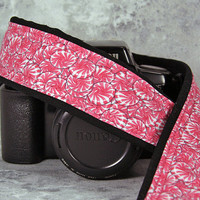 Pink Peppermint Camera Strap, dSLR, Christmas, Hot pink, Candy,  SLR, 197 w