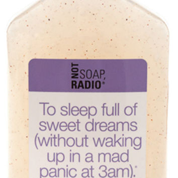 To sleep full of sweet dreams - Not Soap Radio