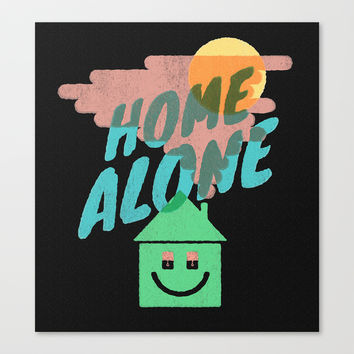 Home Alone Canvas Print by Nick Nelson