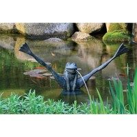 SheilaShrubs.com: Crazy Legs Frog Spitter 78010 by Aquascape: Spitter Fountains
