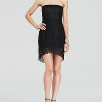 Charlie Jade Dress - Lace Strapless