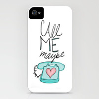 Call Me Maybe iPhone Case by Leah Flores | Society6