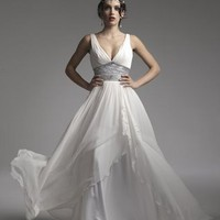 grecian wedding dresses |