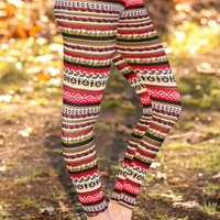 A Holiday to Remember Leggings