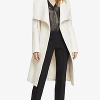 CONVERTIBLE COLLAR ROBE COAT from EXPRESS