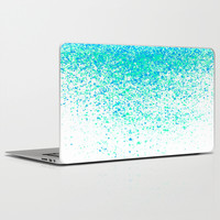 sparkling mint Laptop & iPad Skin by Marianna Tankelevich