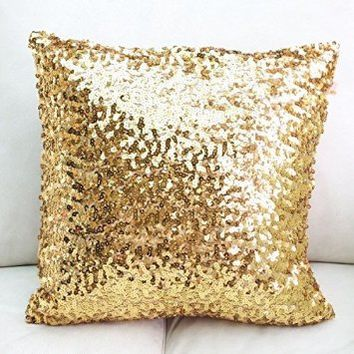 Europe Luxurious Sequin Pillow/cushion Cover/pillow Case