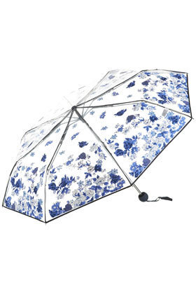 Porcelain Floral Umbrella - Umbrellas  - Accessories