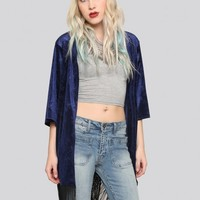 All Yours Gypsy Jacket - Royal