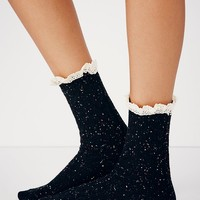 Free People Speckled Highland Bootsock