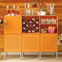 Enameled QBO® Steel Cube Bar | The Container Store