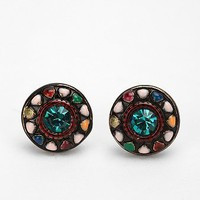 Pinwheel Post Earring