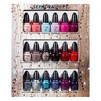 Sephora: Glimmer Wonderland  Eighteen Piece Mini Nail Colour Set   : nail-polish-nails-makeup