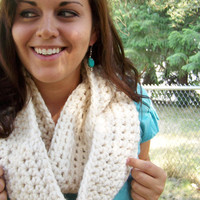 Infinity Scarf-Fisherman Cream