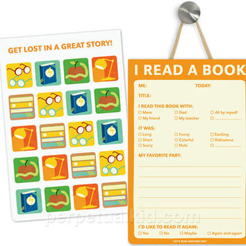 I READ A BOOK PLAYTIME PADS