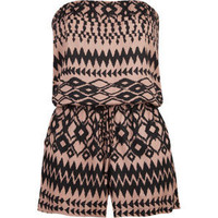 FULL TILT Ethnic Print Womens Tube Romper 196665957 | Rompers &amp; Overalls | Tillys.com