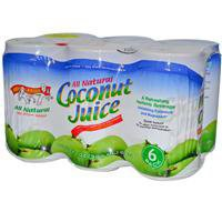 Amy & Brian, Coconut Juice, 6 Pack, 10 fl oz (300 ml) Each - iHerb.com
