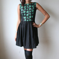Weed Mini Dress Sz XS S M