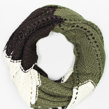 Game Day Scarf - OLIVE GREEN