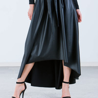 Not Ur Average Faux Leather Skirt