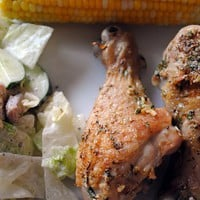 *Simply Scratch*: Parmesan Garlic Chicken Drumsticks {a steamy recipe!}