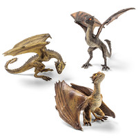 Game of Thrones Dragon Sculptures - Viserion Baby Dragon