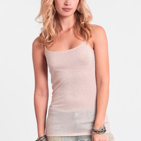 Easy Breezy Tank In Pink