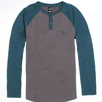 Volcom Color Block Henley Raglan Shirt at PacSun.com