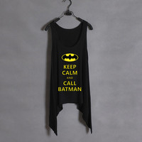 keep calm and call batman tank